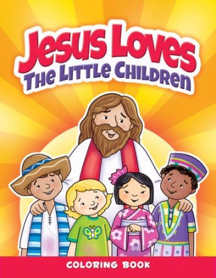 Jesus Loves The Little Children Coloring Book (Pack Of 6)
