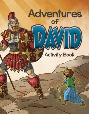 Adventures Of David Activity Book (Pack Of 6)