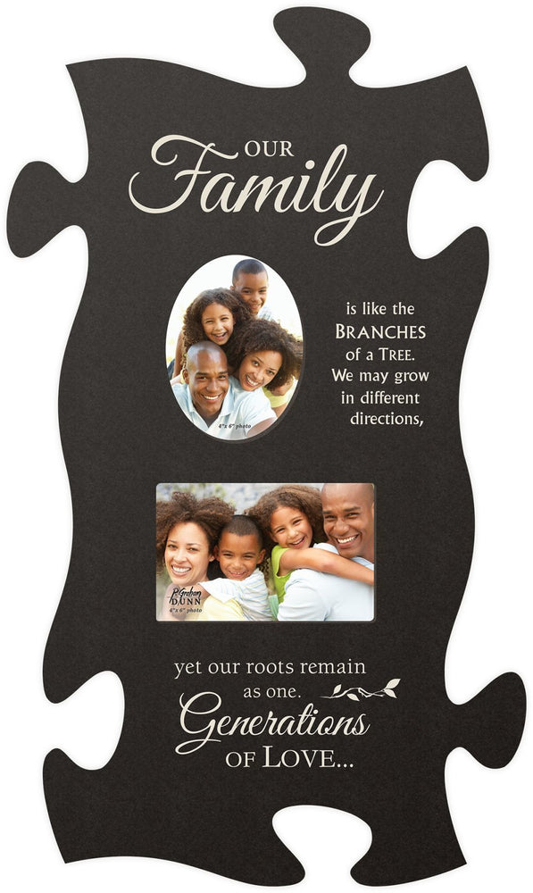 Puzzle Photo Frame (1s):Our Family (13x22)