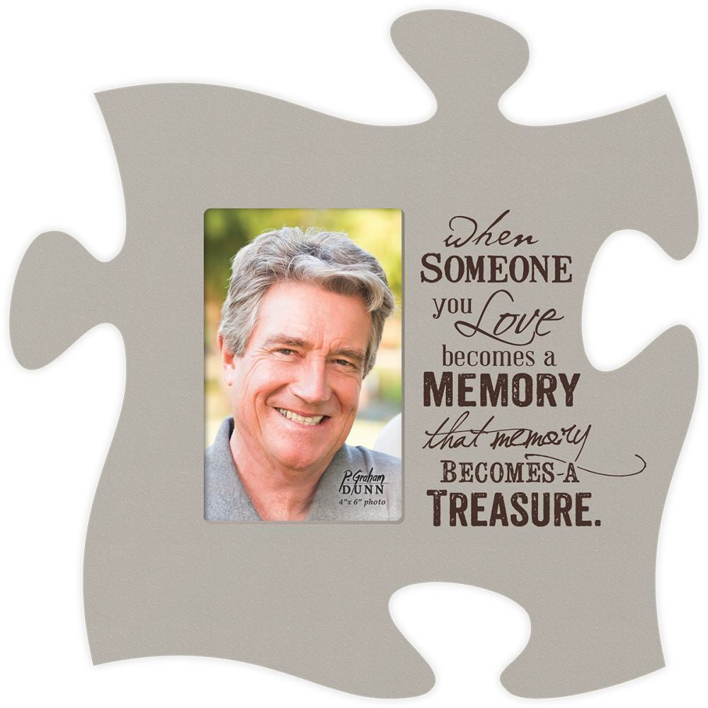 Puzzle Photo Frame (2s):When Someone (12x12)