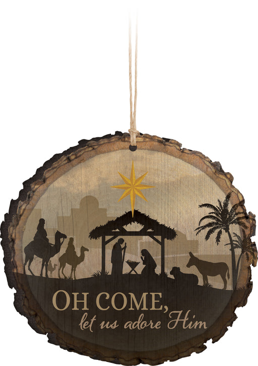 Barky Ornament (6s):Oh Come (3.75x3.5)
