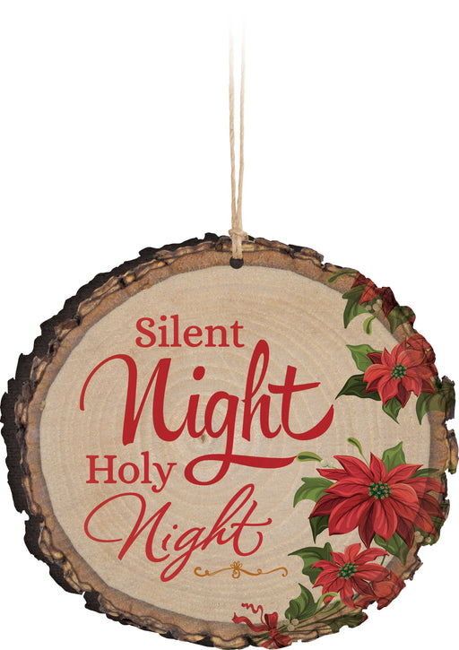 Barky Ornament (6s):Silent Night (3.75x3.5)