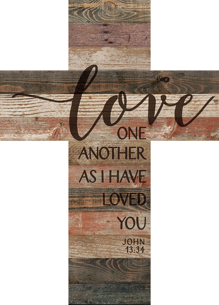 Cross (1s):Love One Another (14x19.5)