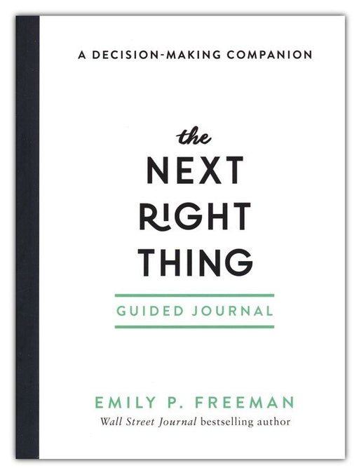 The Next Right Thing Guided Journal