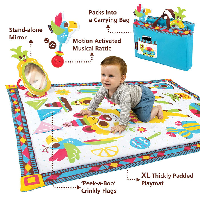 Yookidoo Fiesta Playmat to Bag