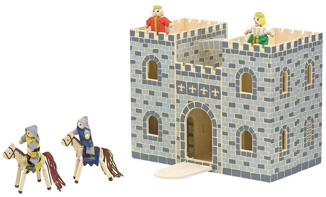 Melissa & Doug Fold & Go Mini Castle