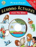 Learning From The Bible Activity Book-Preschool w/CD