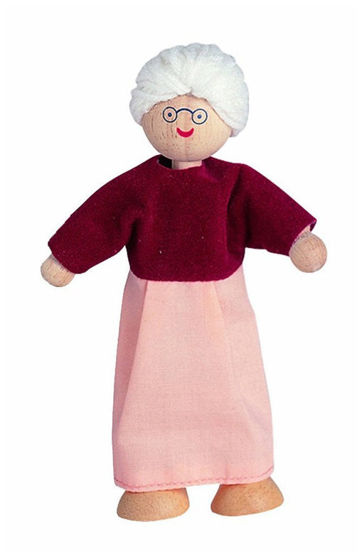 Plan Toys Dollhouse Doll-Grandmother