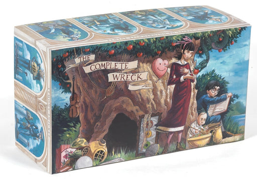 A Series of Unfortunate Events Box: The Complete Wreck (Books 1-13)