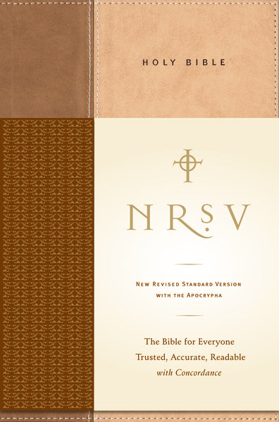 NRSV, Standard Bible with Apocrypha, Hardcover, Tan/Brown