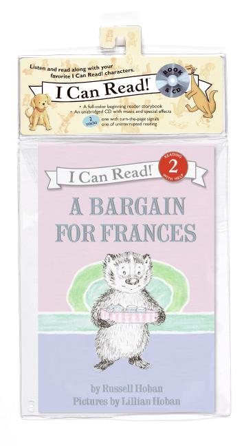 A Bargain for Frances Book and CD
