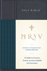 NRSV, Standard Catholic Edition Bible, Anglicized, Hardcover, Navy/Blue