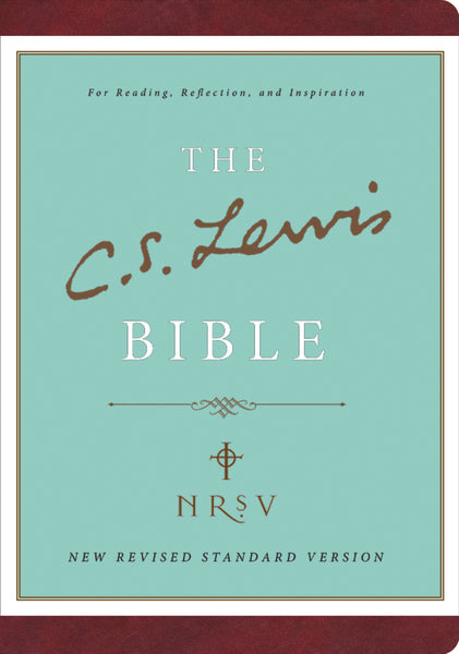 NRSV, The C. S. Lewis Bible, Bonded Leather, Burgundy