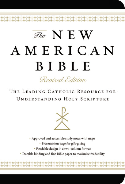 The New American Bible, Revised Edition, Imitation Leather, Non-flex, Black