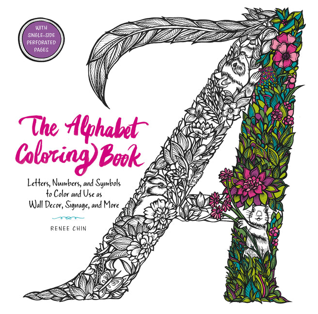 The Alphabet Coloring Book