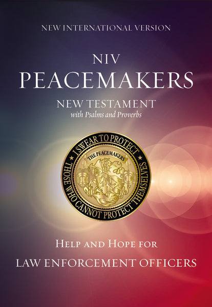 NIV, Peacemakers New Testament with Psalms and Proverbs, Paperback