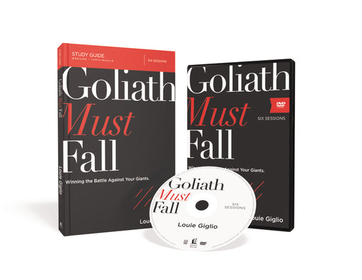 Goliath Must Fall Study Guide with DVD