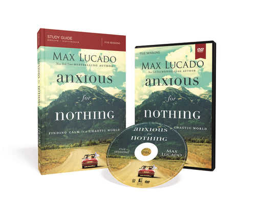 Anxious for Nothing Study Guide with DVD