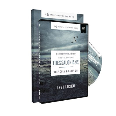 1 and   2 Thessalonians Study Guide with DVD