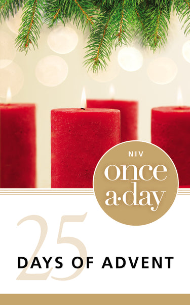 NIV, Once-A-Day 25 Days of Advent Devotional, Paperback