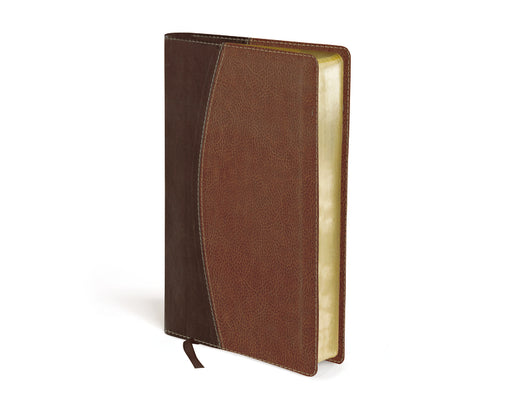 NASB, Thinline Bible, Compact, Leathersoft, Brown, Red Letter Edition