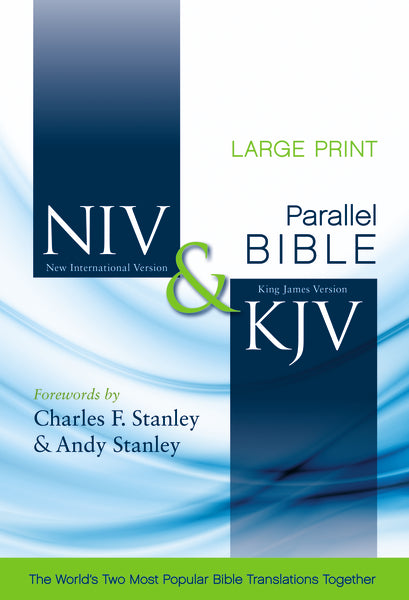 NIV, KJV, Parallel Bible, Large Print, Hardcover