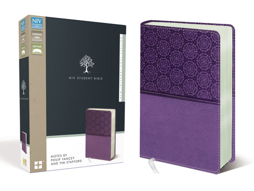 NIV, Student Bible, Leathersoft, Purple