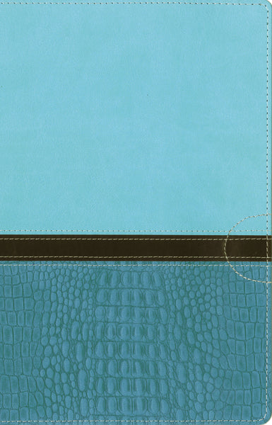 NIV, Women's Devotional Bible, Leathersoft, Teal