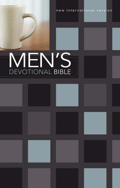 NIV, Men's Devotional Bible, Hardcover