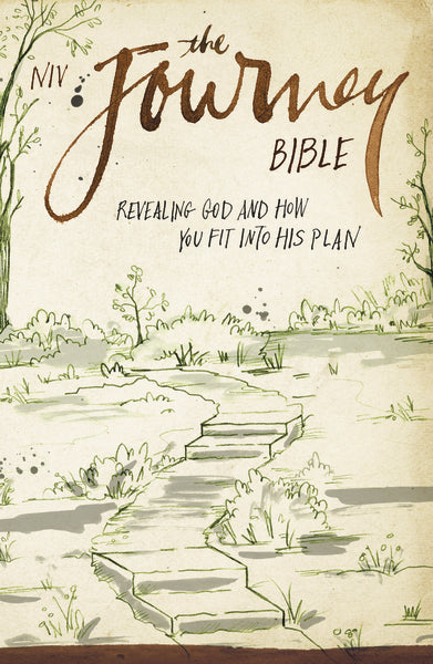 NIV, The Journey Bible, Paperback