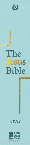 The Jesus Bible, NIV Edition, Leathersoft, Blue