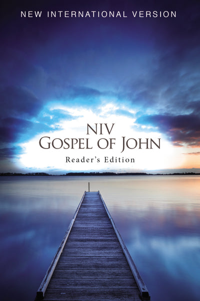NIV, Pocket Gospel of John, Reader's Edition, Paperback