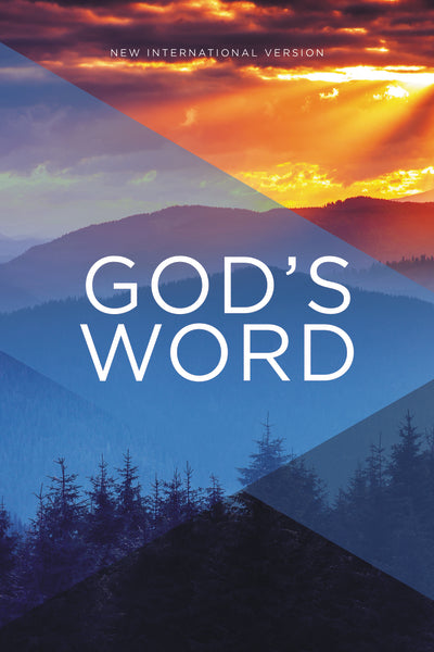 NIV, God's Word Outreach Bible, Paperback