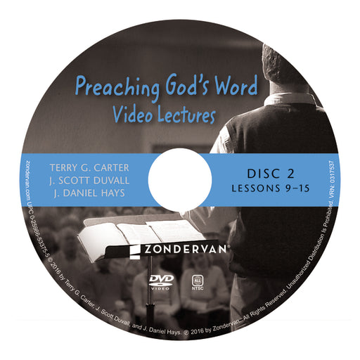 Preaching God's Word Video Lectures