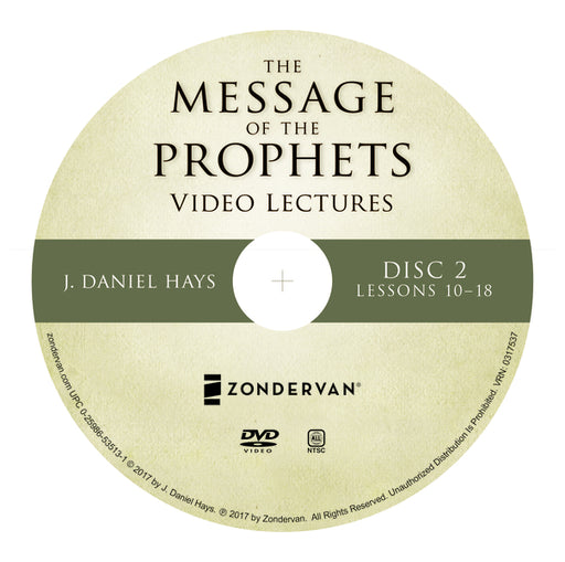 The Message of the Prophets Video Lectures