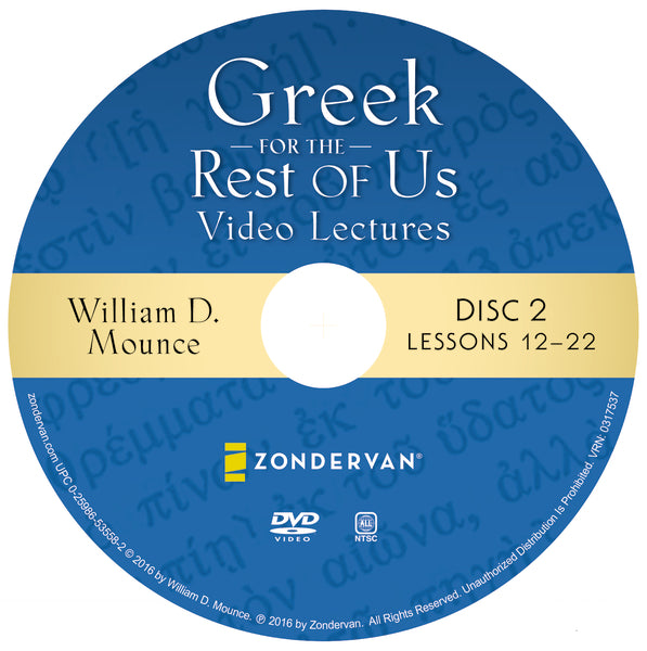 Greek for the Rest of Us Video Lectures