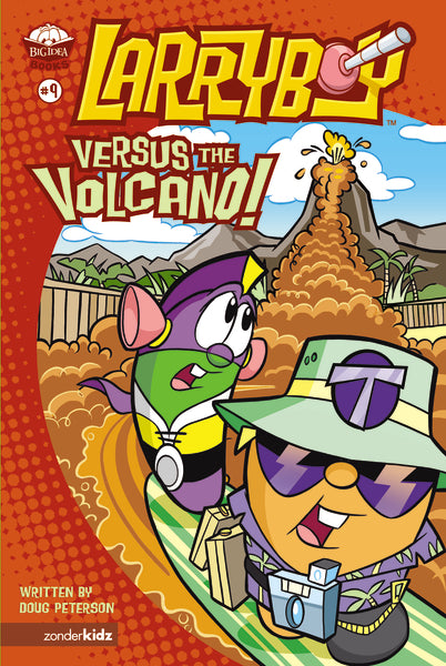 LarryBoy, Versus the Volcano