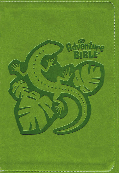 NIrV, Adventure Bible for Early Readers, Leathersoft, Green, Full Color