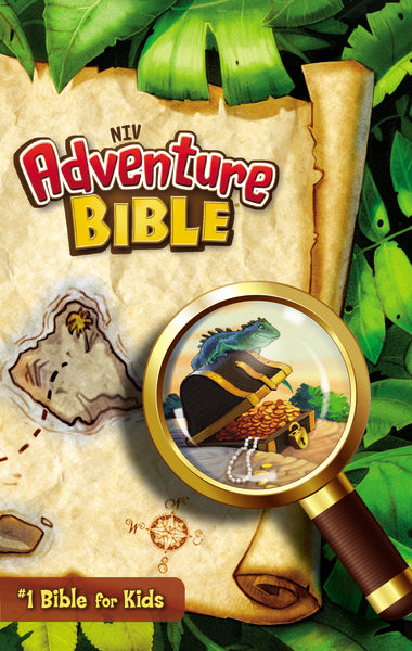 NIV, Adventure Bible, Paperback, Full Color