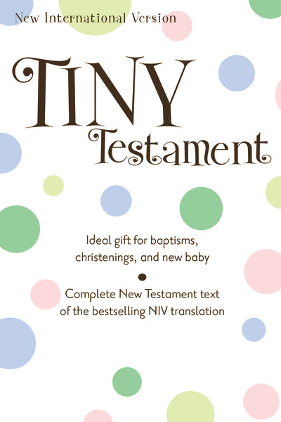 NIV, Tiny Testament Bible: New Testament, Leathersoft, Pink