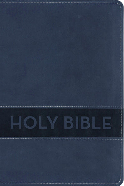 NIrV, Gift Bible, Leathersoft, Blue