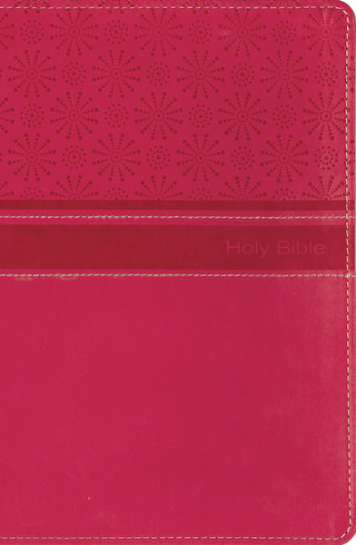 NIrV, Gift Bible, Leathersoft, Pink