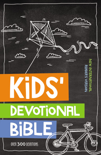 NIrV, Kids' Devotional Bible, Hardcover
