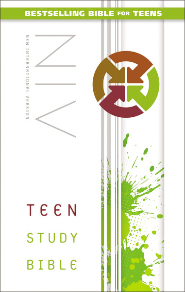 NIV, Teen Study Bible, Hardcover
