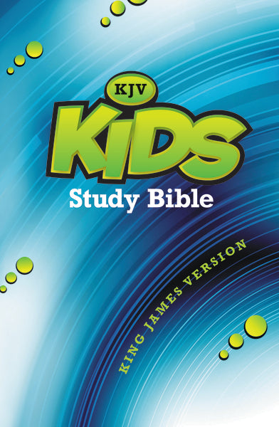 KJV, Kids Study Bible, Hardcover