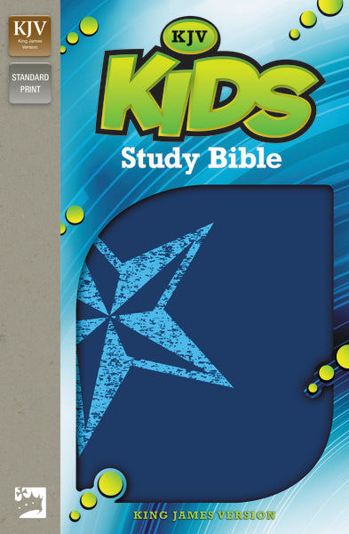 KJV, Kids Study Bible, Leathersoft, Blue