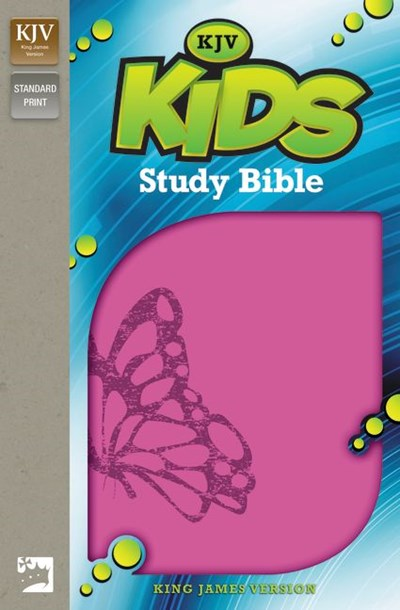 KJV, Kids Study Bible, Leathersoft, Pink