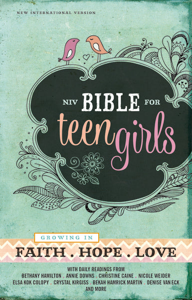 NIV, Bible for Teen Girls, Hardcover