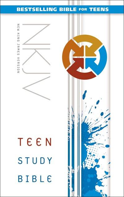NKJV, Teen Study Bible, Hardcover