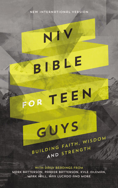 NIV, Bible for Teen Guys, Hardcover